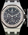 AUDEMARS PIGUET ROYAL OAK OFFSHORE LADY�S �PLUMB� PURPLE CHRONOGRAPH