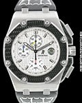 AUDEMARS PIGUET ROYAL OAK OFFSHORE MONTOYA TITANIUM AUTOMATIC BOX & PAPERS