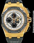AUDEMARS PIGUET ROYAL OAK OFFSHORE BARRICHELLO II PROTOTYPE STEEL ROSE PLATED