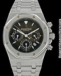 AUDEMARS PIGUET TROPICAL COLOR CHANGE ROYAL OAK CHRONOGRAPH STAINLESS STEEL