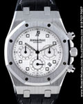AUDEMARS PIGUET ROYAL OAK CHRONOGRAPH 18K WHITE 26022BC