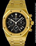 AUDEMARS PIGUET ROYAL OAK CHRONOGRAPH 25860 18K GOLD
