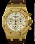 AUDEMARS PIGUET ROYAL OAK CHRONOGRAPH 18K YELLOW GOLD
