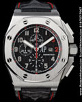 AUDEMARS PIGUET OFFSHORE ROYAL OAK SHAQUILLE O'NEAL CHRONOGRAPH STEEL
