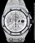 AUDEMARS PIGUET ROYAL OAK OFFSHORE CHRONOGRAPH DIAMOND 18K
