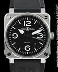 BELL & ROSS BR 03-92 INSTRUMENT WATCH STEEL