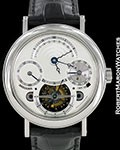 BREGUET PLATINUM TOURBILLON PERPETUAL CALENDAR REF 3757 BOX PAPERS
