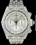 BREITLING CHRONOGRAPH SERIE SPECIAL LIMITEE 25 DIAMONDS 18K