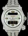 BREITLING EMERGENCY CHRONOGRAPH LIMITED EDITION DIAMONDS 18K