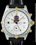 BREITLING DUOGRAPH WORLD CUP LIMITED EDITION STEEL