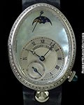 BREGUET REINE DE NAPLES 18K WHITE GOLD AUTOMATIC MOTHER OF PEARL REF 8908