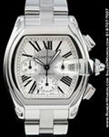 CARTIER ROADSTER CHRONOGRAPH AUTOMATIC STEEL