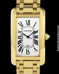 CARTIER 1740 TANK AMERICAINE AUTOMATIC 18K