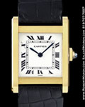 CARTIER VINTAGE TANK WATCH 18K