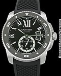 CARTIER CALIBRE DE CARTIER DIVER AUTOMATIC 42MM W7100056 NEW BOX PAPERS