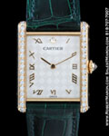 CARTIER TANK MECANIQUE DIAMOND 18K