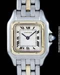 CARTIER MINI PANTHERE STEEL & 18K