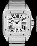 CARTIER SANTOS 100 AUTOMATIC STEEL