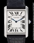CARTIER TANK XL STEEL