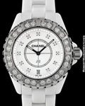 CHANEL J12 H2430 DIAMONDS CERAMIC