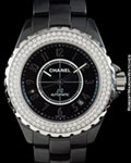 CHANEL J12 H0950 AUTOMATIC DIAMONDS CERAMIC