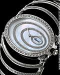 CHOPARD HAUTE JOAILLERIE DIAMOND CUFF 18K WHITE