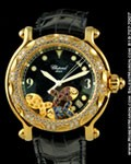 CHOPARD HAPPY SPORT HAPPY FISH 28/3529 DIAMONDS 18K