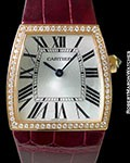 CARTIER LA DONA 18K DIAMONDS QUARTZ