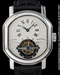 CLASSIC TOURBILLON STAINLESS STEEL DOUBLE ELLIPSE CASE