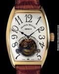 FRANCK MULLER CINTREE CURVEX 5850 T IMPERIAL TOURBILLON 18KT
