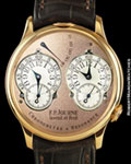 F. P. JOURNE CHRONOMETER a RESONNANCE 18K ROSE