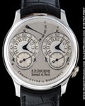 F.P. JOURNE CHRONOMETRE A RESONANCE PLATINUM