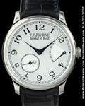 F.P. JOURNE CHRONOMETRE SOUVERAIN PLATINUM