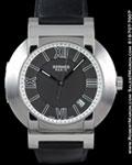HERMES N02.910 COMPASS WATCH STEEL