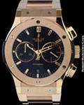 HUBLOT FUSION CHRONOGRAPH AUTOMATIC 18K ROSE