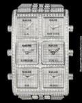 ICELINK AMBASSADOR 6 TIMEZONE DIAMONDS STEEL