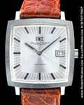 IWC 1871 SQUARE AUTOMATIC STEEL