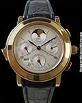 IWC IL DESTRIERO SCAFUSIA 18K ROSE MINUTE REPEATER TOURBILLON RATTRAPANTE NEW BOX & PAPERS