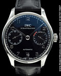 IWC 5001 PORTUGUESE 7 DAY POWER RESERVE STEEL