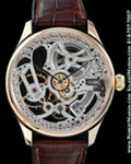 IWC PORTUGUESE F.A.JONES SKELETON LIMITED 18K ROSE