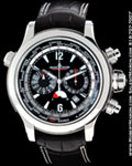 JAEGER LECOULTRE MASTER GEOGRAPHIC EXTREME CHRONOGRAPH STAINLESS STEEL