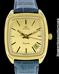 MOVADO BETA 21 18K GOLD QUARTZ