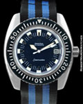"OMEGA REF 166.073 ""BIG BLUE"" SEAMASTER STEEL"
