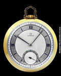 OMEGA POCKET WATCH 18K