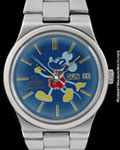 OMEGA SEAMASTER AUTOMATIC MICKEY MOUSE STEEL