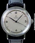 OMEGA VINTAGE REF. 2410 WATERPROOF CHRONOMETER STEEL TWO-TONE DIAL CIRCA 1944