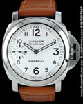 PANERAI LUMINOR MARINA PAM113 STEEL WHITE DIAL