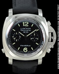 PANERAI PAM 213 LUMINOR CHRONOGRAPH RATTRAPANTE STEEL
