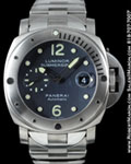PANERAI LUMINOR SUBMERSIBLE PAM 106 TITANIUM STEEL AUTO