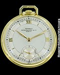 PATEK PHILIPPE RATTERMANN POCKET WATCH 18K GOLD